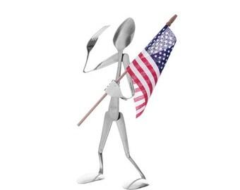 Patriot Display Spoon Head