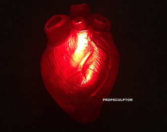 Once upon a time heart prop sculpted by me