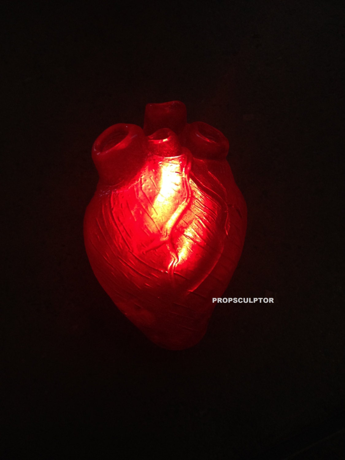 Heart Is An International Peer Reviewed Journal: Once Upon A Time Heart Prop Sculpted By Me