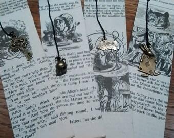 Alice in Wonderland bookmark.