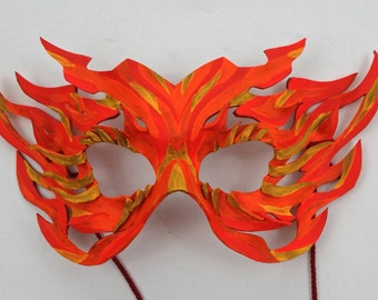 Items Similar To Leather El Wire Light Up Mask The