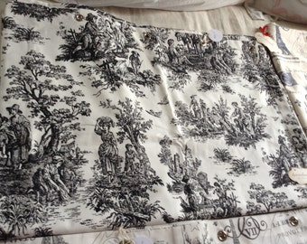 Toile curtains   Etsy