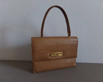 Wonderful vintage Celine Paris hand bag made by LaBoutiqueTusson