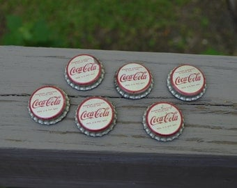 Vintage Coke Bottle Cap Magnets