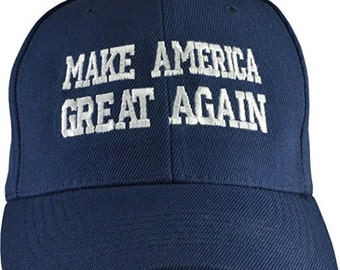 Make America Great Again Blue Hat - Free Shipping