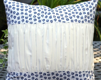 Chic Ruched Pillow Cover