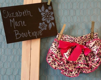 Sassy Pink Cheetah Bloomer