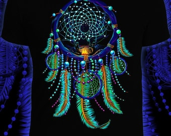 Neon t-shirt / Dreamcatcher