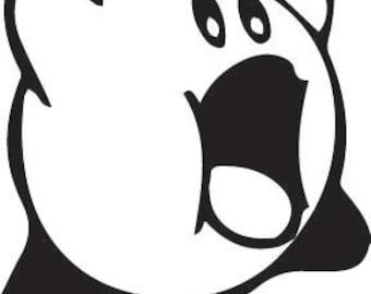 Nintendo Kirby Decal - Vinyl - Car or Wall - Fan Made