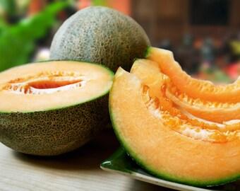 Melon Seeds, Sweet, Fresh, Organic, Easy to grow, 30 seeds