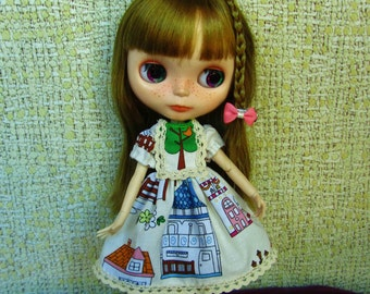 Dress for Blythe, Pullip (Houses)
