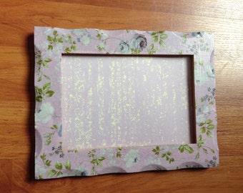 Decoupage frame | photo frame | picture frame