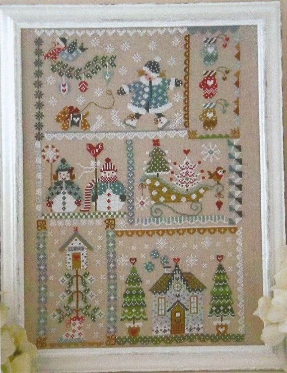 CUORE E BATTICUORE Winter In Quilt Cross Stitch