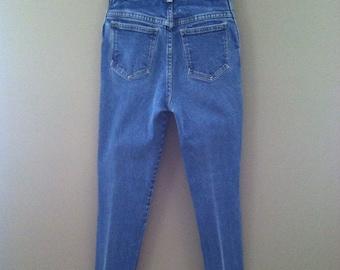 Vintage 80's High Waist Skinny Jeans