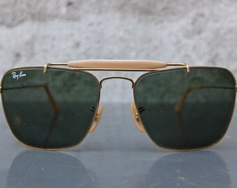 Vintage RAY-BAN B&L USA 52mm Caravan Sunglasses