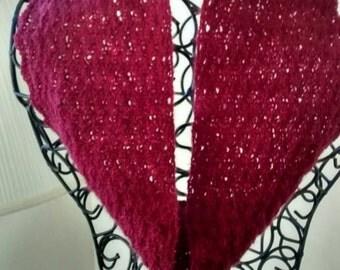 Infinity scarf, neck warmer
