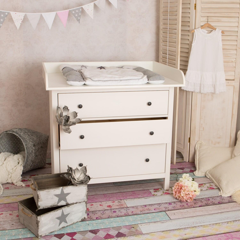 xxl extrarund wickelaufsatz wei f r ikea hemnes kommode in. Black Bedroom Furniture Sets. Home Design Ideas