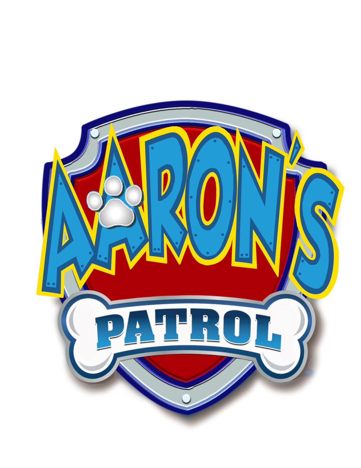 Paw Patrol Personalized Logocake Topper Digital By Mimicnecho. Charity Banners. Blessed Lettering. Business Logo Stickers. Season Lettering. Hate Signs. Mpv Decals. Irrational Signs. Allergy Signs