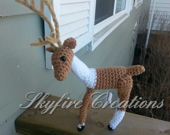 Made to Order Realistic Stuffed Reindeer Plush