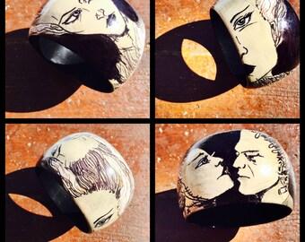 Bride of Frankenstein Bracelet
