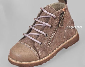 Leather baby boy first steps shoes brown blue sneakers baby wedding shoes baby boy shoes kids shoes size 4 5 6 7 8 9 US EU 16359A3036