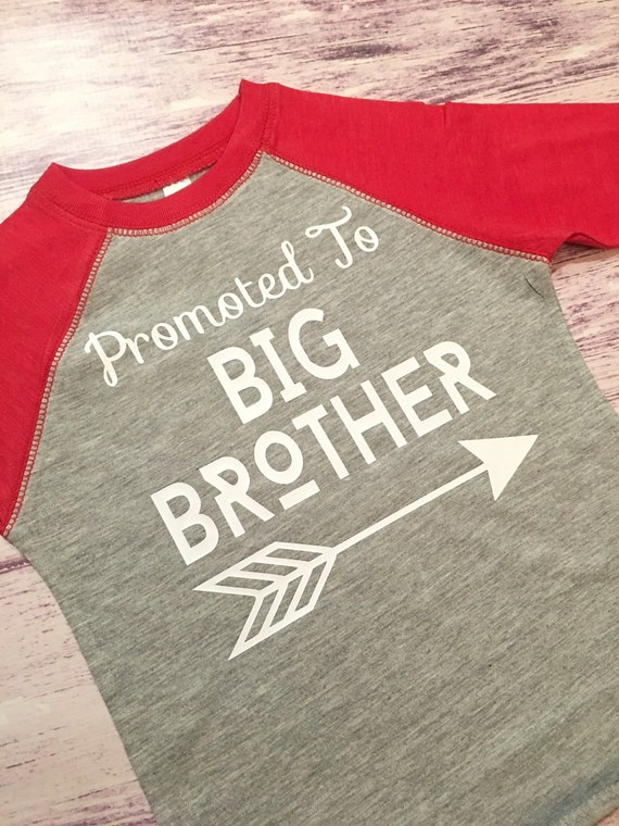 Promoted to big brother shirt pregnancy by purpleelephantstl for Big brother shirts for toddlers carters