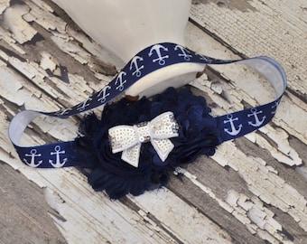 Sailor Headband, Baby Headband