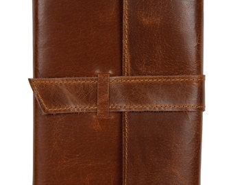 Handmade Leather Journal Notebook Refillable Diary gifts for Men Women Writers Artist Poet