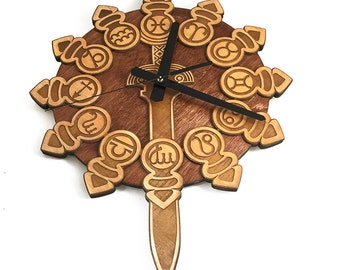 Final Fantasy Tactics Zodiac Braves Clock