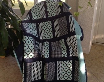 """Throw or Lap Quilt 53"""" x 75"""""""