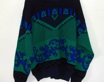 Vintage 80's Ugly Sweater