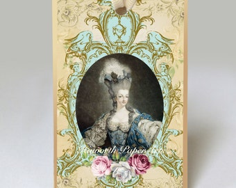 Marie Antoinette No. 1 Gift Tag