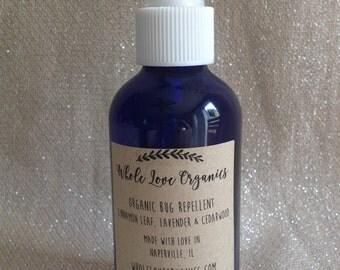 Organic Bug Spray Bug Repellent