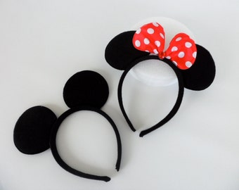 Mickey Mouse or Minnie Mouse ears