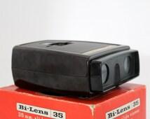 Vintage Slide Viewer,  35 mm Slide Viewfinder,  Bi - Lens by Sawyers View Master Products