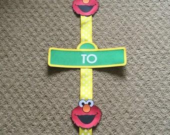 Sesame Street Welcome Banner ***CUSTOM***