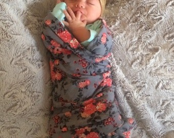 Cozy Baby Girl Swaddles