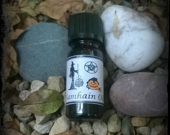 Samhain anointing oil, Wiccan, pagan, witch, Sabbat, Halloween