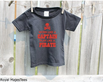 Kids Pirate Shirt