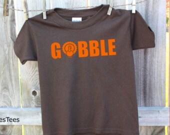 Gobble Thanksgiving Shirt
