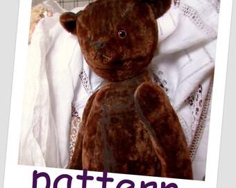 Pattern Bear 50cm (20inch)