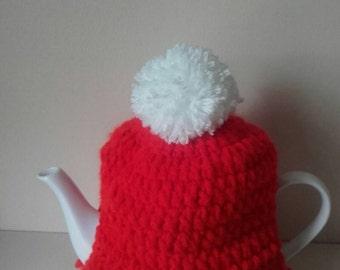 Christmas tea cosy,Santa tea cosy, medium tea cosy,xmas tea cosy