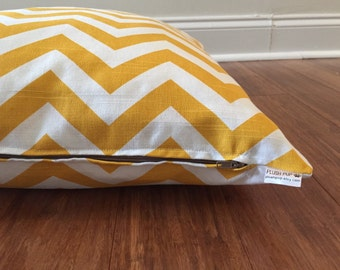 Chevron Dog bed cover, Yellow Dog bed cover, Yellow chevron dog bed cover, Zig Zag Dog bed cover