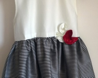 elegant girl dress handmade