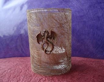 Handmade Tealight Candle Holder - TARGARYEN DRAGON ~ Game of Thrones ~