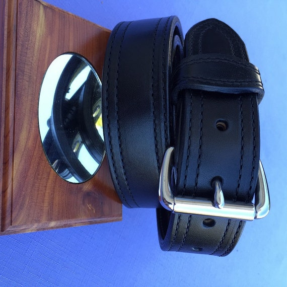 leather dress and concealed carry belts from amish country
