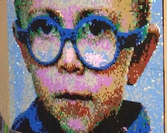 Lego Portrait Custom Mosaic