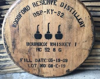 Woodford reserve bourbon barrel top