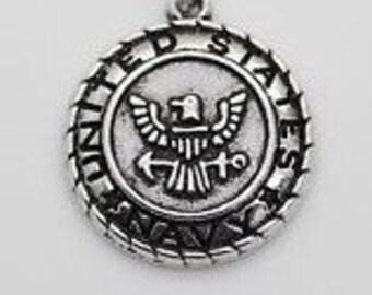 United States Navy Charm
