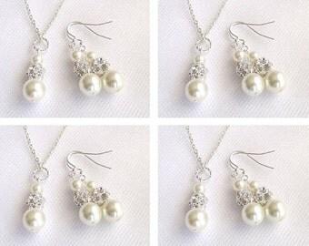 Brides Bridemaids Jewelry Set